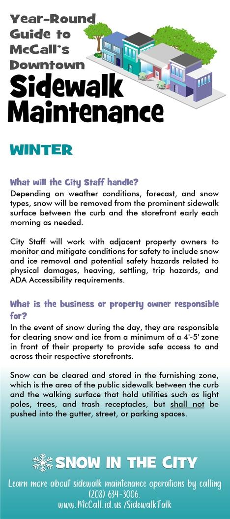 Winter Sidewalk Guide