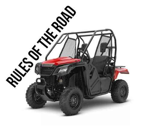 Official Website of McCall, Idaho OHV & UTV Rules - Not